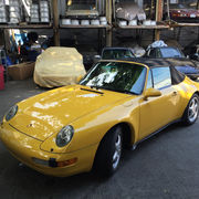 1995 Porsche 911Carrera Convertible 2-Door